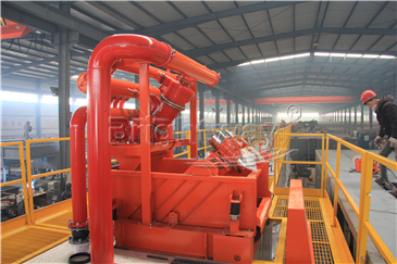 Mud Cleaner in Coal Bed Methane system