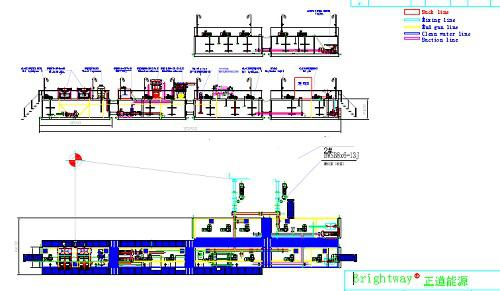 Brightway ZJ50J mud system technical drawing design