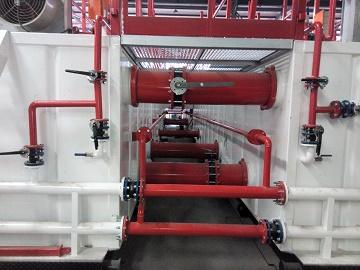 ZJ50 Solids Control System manifolds