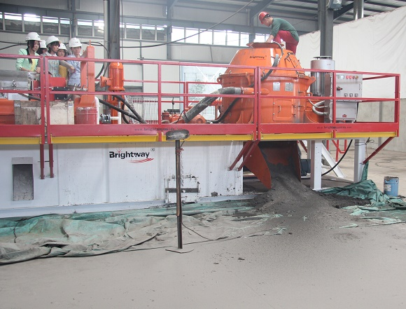 Brightway Drilling Waste Management tested successfully