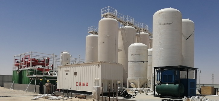 12500bbl Liquid Mud Plant in Mid-East