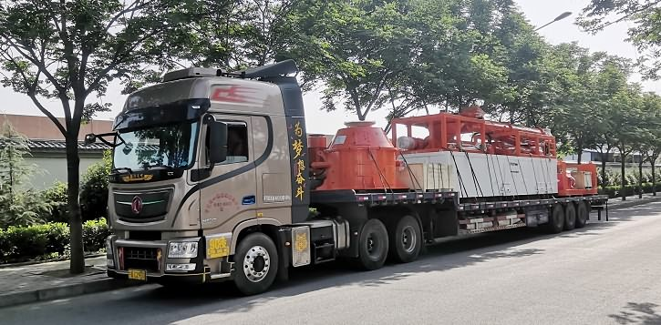 Delivery of a Finland oilfield drilling fluids waste management