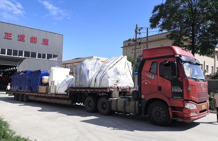 Shipment of Mud-water Separation System to Finland