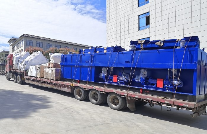 Shipment of Mud-water Separation System
