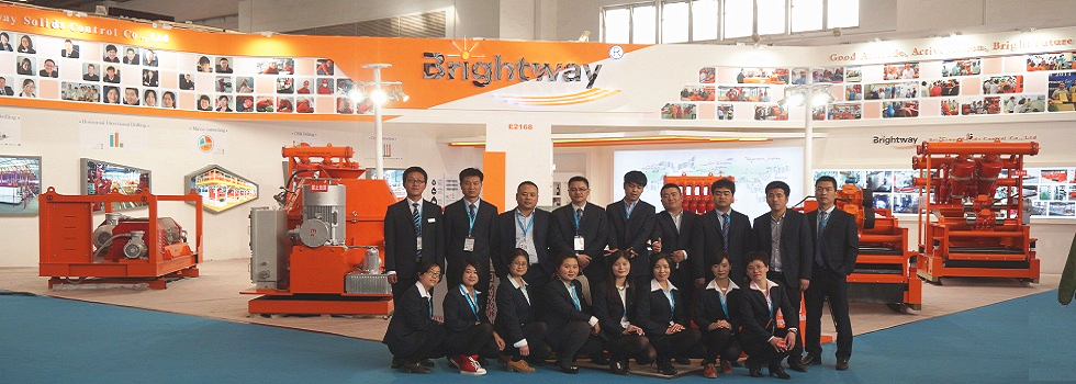 All staff in front of Brightway Booth No.E2168 in CIPPE 2015