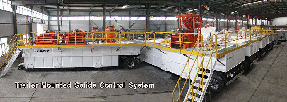 Trailer Mounted Solids Control System